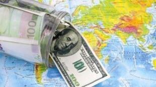 圖為網絡關於國際投資報導圖片