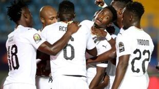 Le Ghana est qualifié pour les huitièmes de finale de la CAN 2019.