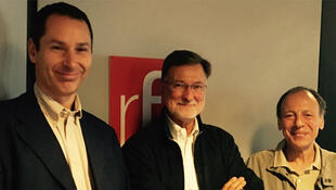 Maxime Lefebvre, Didier Billion et Toufik Benaïchouche.