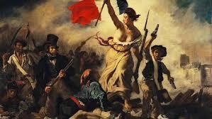 « La Liberté guidant le peuple » par Eugène Delacroix, 1830.