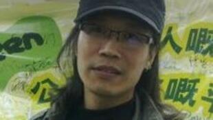 Hongkong M.Yangkuang,défenseur de l'ile de Diaoyu