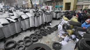 Противостояние в Киеве 22/01/2014