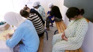Des femmes enceintes dans l'unité de protection « Basma » à Casablanca. (Image d'illustration)