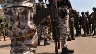 Des militaires ivoiriens à Bouaké, le 13 janvier 2017 (photo d'illustration).