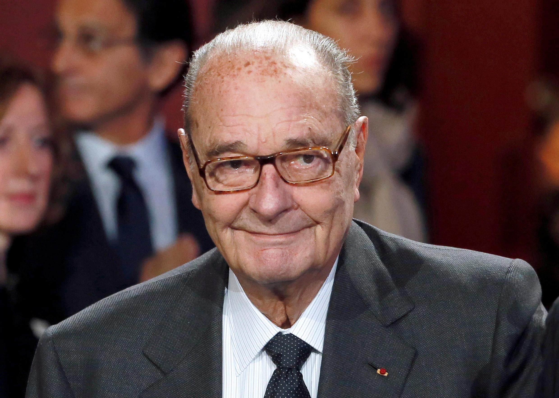 圖為法國前總統希拉克