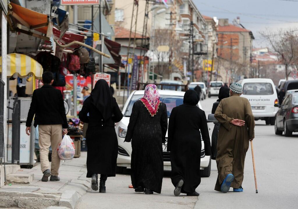 Des réfugiés syriens dans le quartier Ondergazi dans la capitale turque Ankara, 2017. (Photo d'illustration)