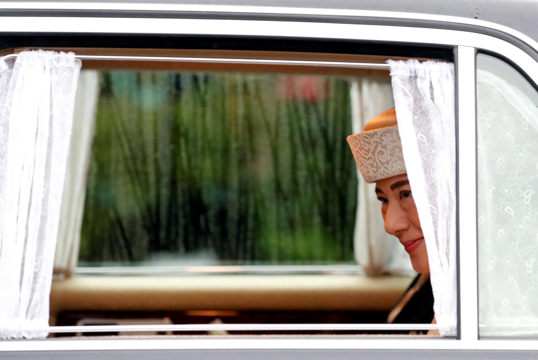 La princesse Masako, une roturière, sur le point de devenir impératrice du Japon. Tokyo, le 30 avril 2019.