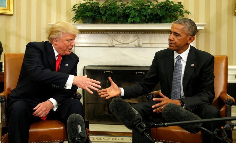 Obama - Donald Trump