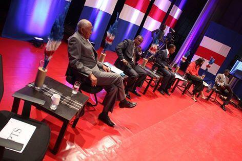 Primeiro debate entre os candidatos às legislativas de 20 de Março. Imagem de Arquivo.