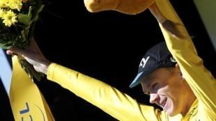 Chris Froome vencedor del Tour de Francia 2015