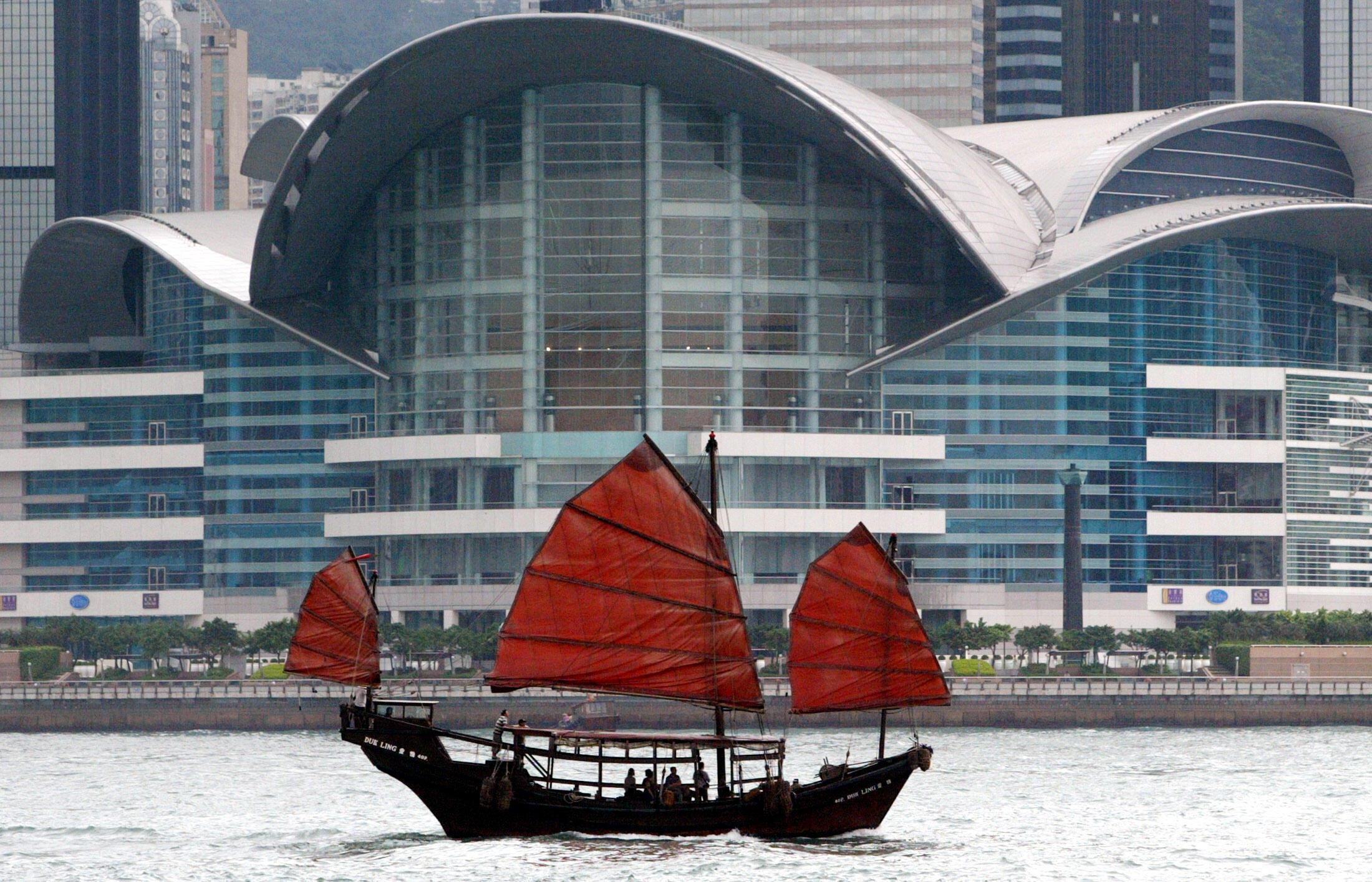 图为香港景色