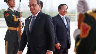 Clima, terrorismo , paraísos fiscais, COP21, prioridades do presidente francês, François Hollande, na cimeira do G20, na China