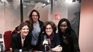 Ulrike Koltermann, Paola Martinez Infante, Emmanuelle Bastide et Prisca Ogouma.