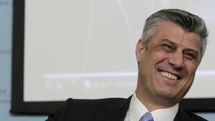 Премьер-министр Косова Хашим Тачи, Вена, 24 января 2012 года,