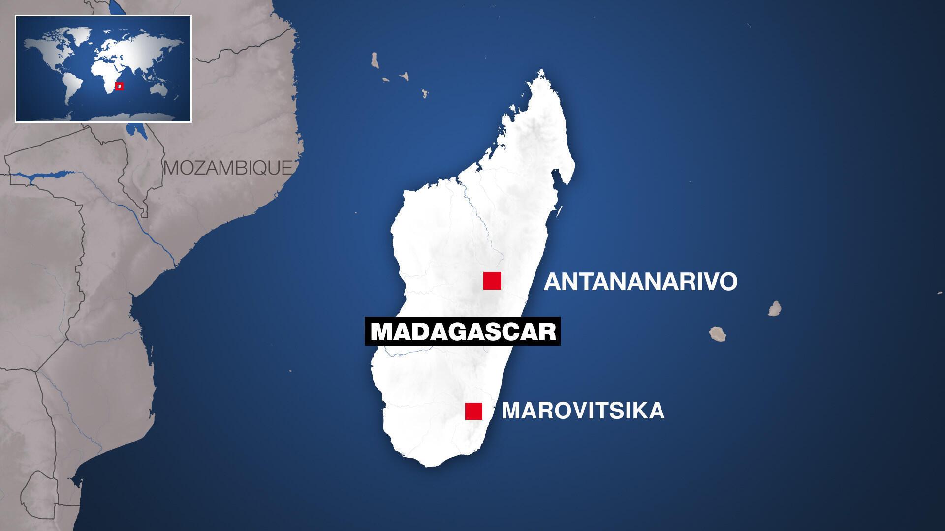 MADAGASCAR - Marovitsika - Carte