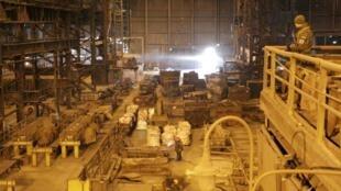 Юзовский металлургический завод в Донецке. 1 марта 2017