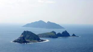 Quần đảo Điếu Ngư/Senkaku mà cả hai phía Trung Quốc và Nhật Bản đều đòi chủ quyền (Reuters)
