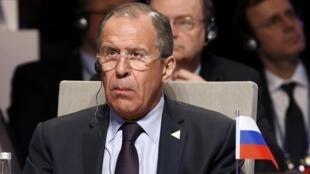 Сергей Лавров на саммите по ядерной безопасности в Гааге 24/03/2014