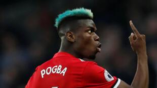 Le Français de Manchester United, Paul Pogba.