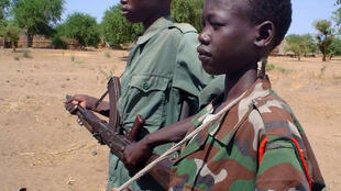 Child soldiers, here in The Central African Republic