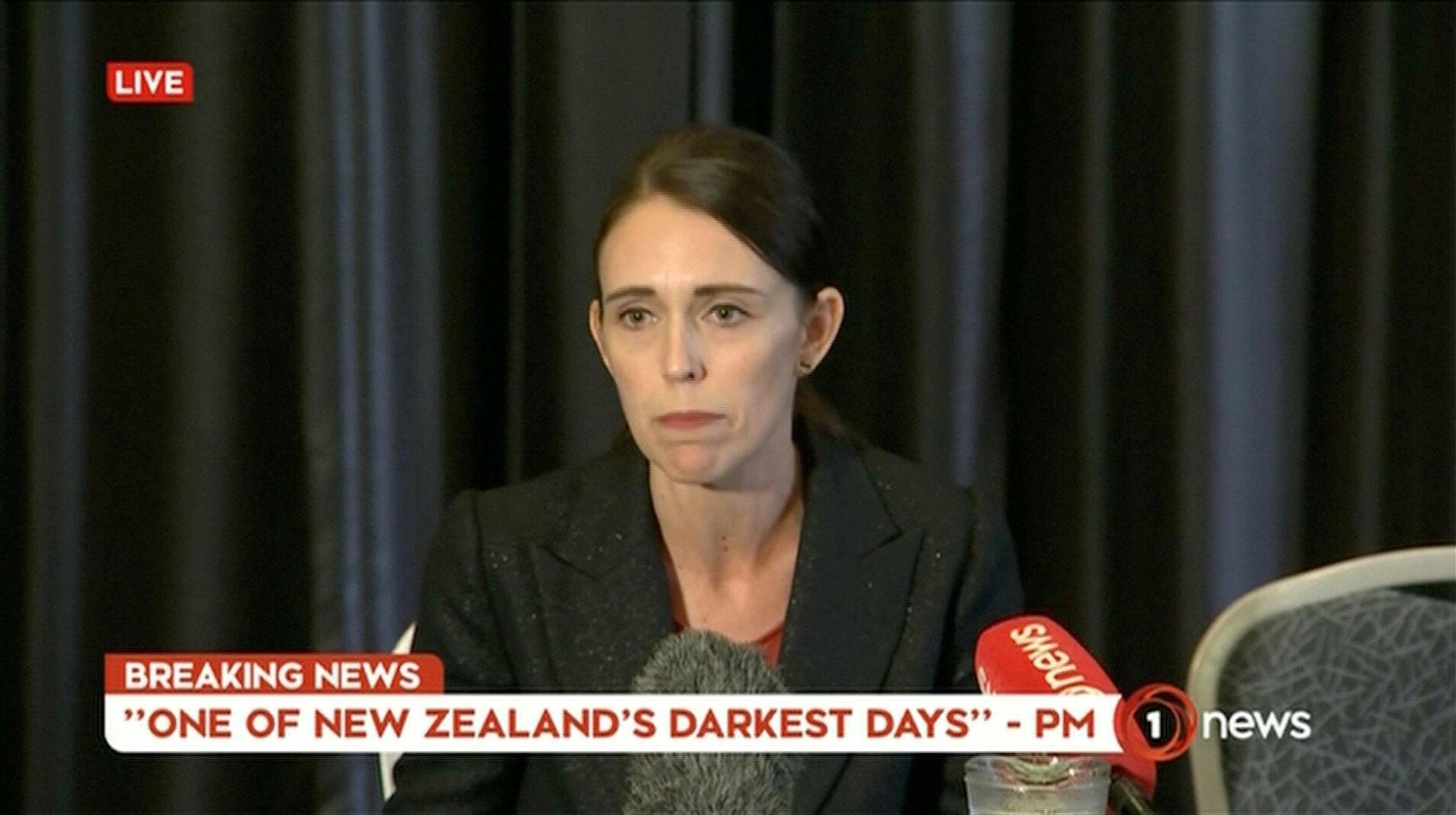 Премьер-министр страны Джасинда Ардерн назвала случившееся терактом, говоря об «одном из самых черных дней в истории Новой Зеландии».