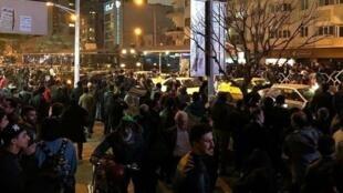 ششمین شب اعتراضات در ایران