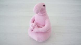 Розовый ждун