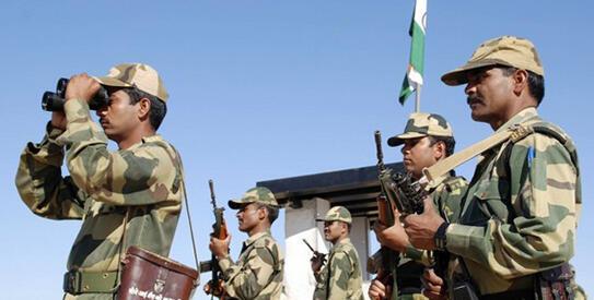 Ảnh minh họa : Lực lượng biên phòng Ấn Độ.