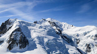 Mighty, majestic Mont Blanc, Europe's highest peak.