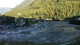 Deslizamento de terra deixa 8 desaparecidos na Suíça