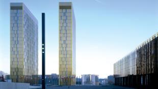 La Cour de justice de l'Union européenne, au Luxembourg.