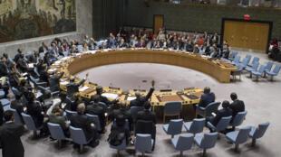 Le projet de résolution n'a rassemblé que sept votes favorables, face à huit abstentions au Conseil de sécurité de l'ONU, le 23 décembre 2016, à New York.