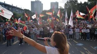 En Biélorussie, une nouvelle journée de mobilisation a lieu ce dimanche 30 août.