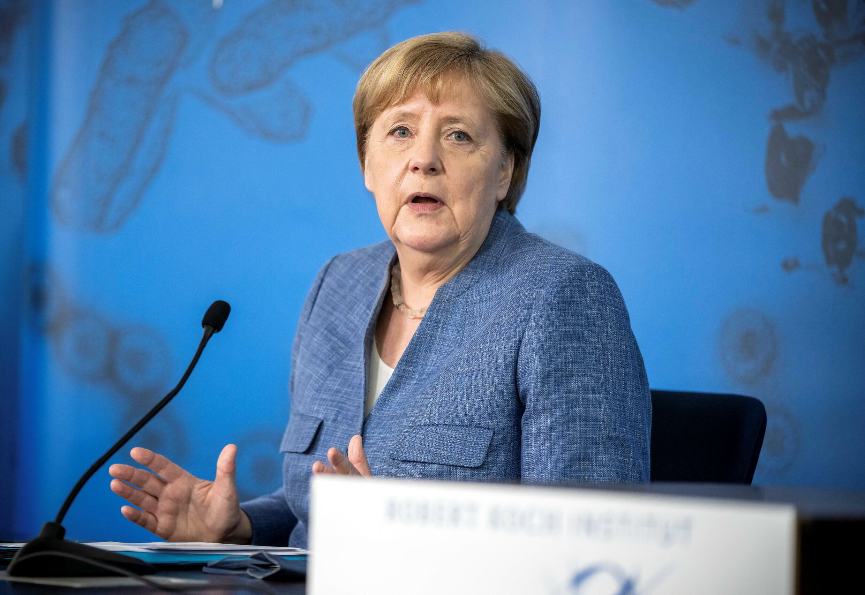 Merkel Berlin Covid vaccination
