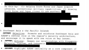 特朗普政府2018年通過的《美國對印太地區戰略框架》文件內容