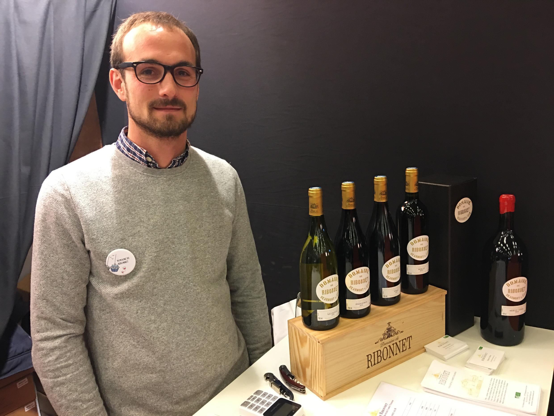 Simon Gerber, organic wine maker at Domaine de Ribonnet near Toulouse