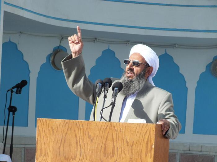 مولانا عبدالحمید، امام جمعه زاهدان