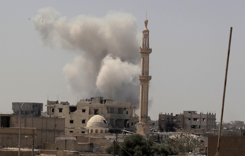 Raqqa (Syrie), le 20 août 2017.