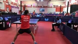 Le tennis de table est présent aux Jeux africains au Maroc.