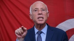 Le candidat conservateur Kaïs Saïed est arrivé en tête du premier tour de l'élection présidentielle en Tunisie.