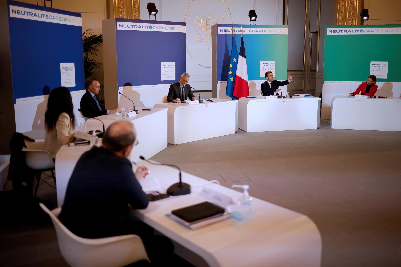 Sommet ambition climatique - Macron_CLIMATE-CHANGE-UN-SUMMIT