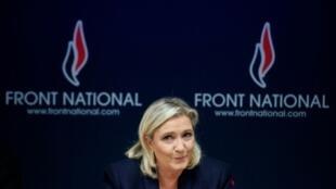 مارین لوپن، نامزد راست افراطی در دور دوم انتخابات ریاست جمهوری فرانسه