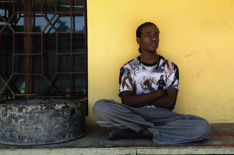 Junaid Jemal Sendi, à Addis-Abeba, en 2005: il a bénéficié du programme Rolex Mentor and Protégé Arts Initiative (Danse).