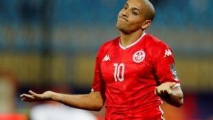 Le Tunisien Wahbi Kazri lors de la CAN 2019.
