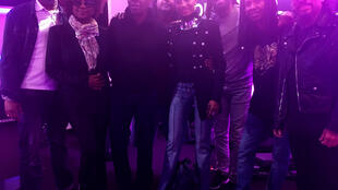 La chanteuse Mounia entourée de son groupe présente Mixx Moun avec Claudy Siar ce jeudi 27 septembre 2018.