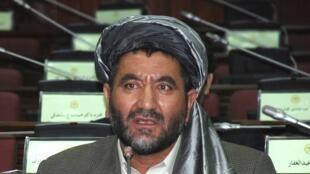 Le parlementaire et ancien chef de guerre afghan Ahmed Khan Samangani a été tué dans un attentat-suicide le 14 juillet 2012.
