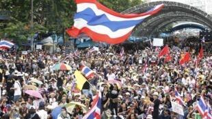 En las calles de Bangkok, el 24 de noviembre de 2013.