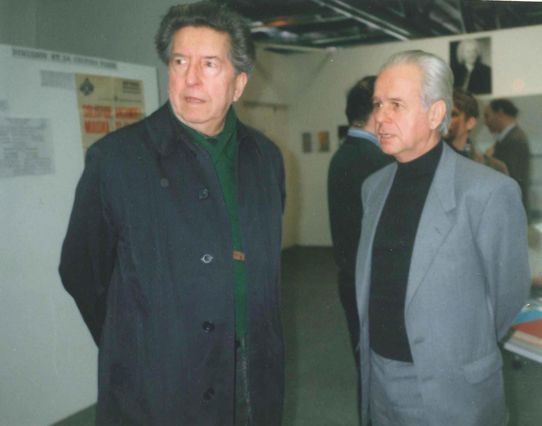 Эдисон Денисов и Анри Дютийе. Париж, 1989 г.
