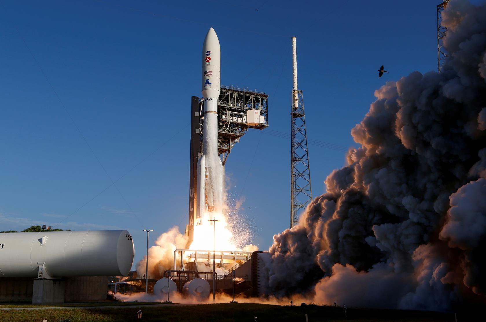 Kumbon Atlas 5 da hukumar binciken sararin samaniya NASA, ta harba zuwa duniyar Mars. 30/7/2020.
