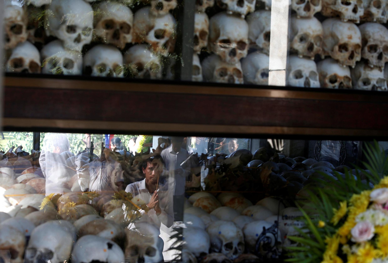 Khu tưởng niệm nạn nhân Khmer Đỏ Choeung Ek ở Phnom Penh. Ảnh chụp ngày 20/05/2019.